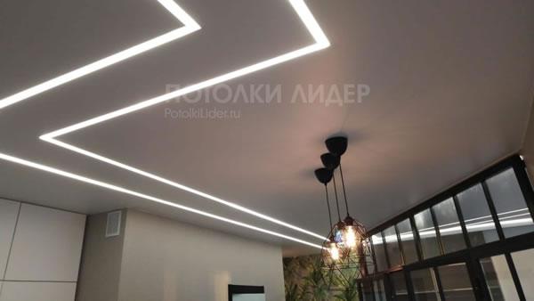 Подвесные светильники и световые линии