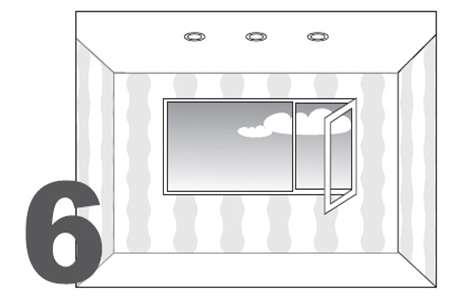 Монтаж натяжного потолка - монтаж осветительных приборов - фото 6