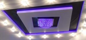 Квадратный натяжной потолок - Фото 1