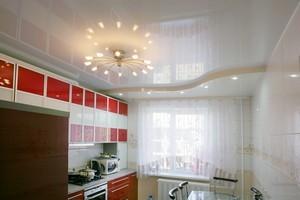 Натяжные потолки на кухню - Фото 1