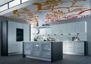 Натяжные потолки на кухню - Фото 2