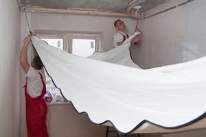 Натяжные потолки без газа - Фото 1