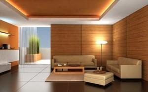 Натяжные потолки деревянный потолок - Фото 1