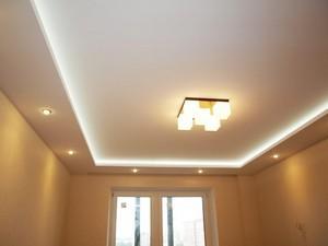 Натяжной потолок или гипсокартон что лучше - Фото 1