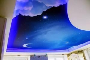 Натяжные потолки «Космос» - Фото 2