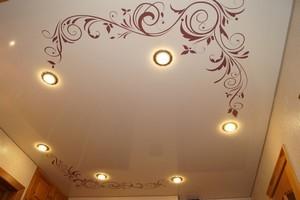 Натяжные потолки с рисунком - Фото 2