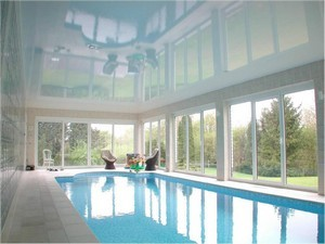 Натяжные потолки в бассейне - Фото 2