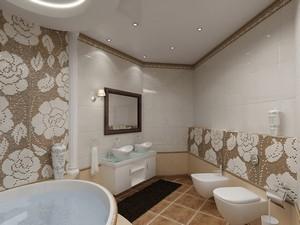 Натяжной потолок в туалете - Фото 2