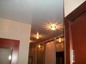 Натяжной потолок в коридоре - Фото 1