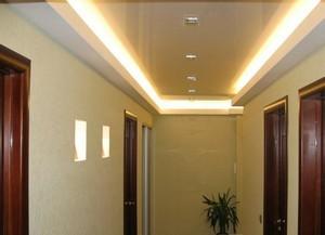 Натяжной потолок в коридоре - Фото 2